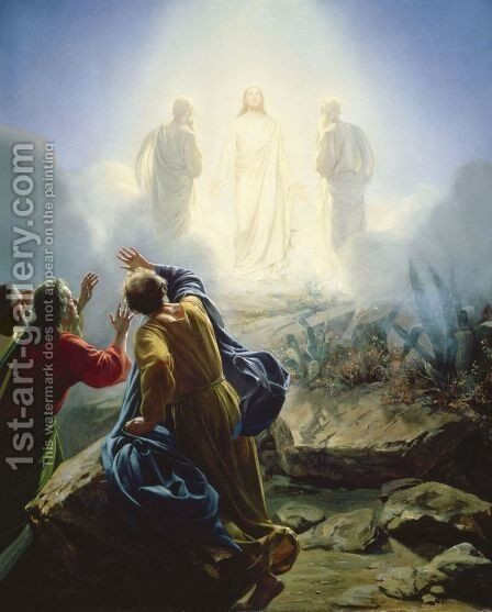 The Transfiguration by Carl Heinrich Bloch - Reproduction Oil Painting