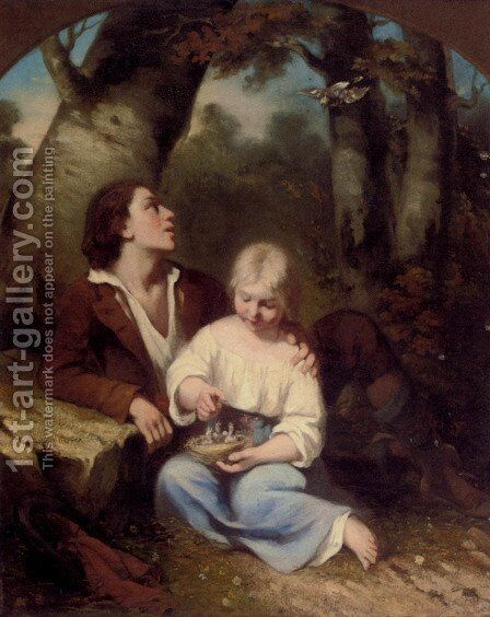 The New Arrivals by Charles Fernand de Condamy - Reproduction Oil Painting