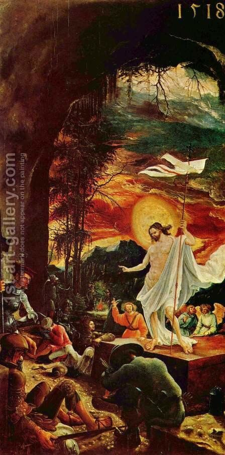 Resurrection Of Christ by Albrecht Altdorfer - Reproduction Oil Painting