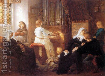 Harmony by Alexandre Cabanel - Reproduction Oil Painting