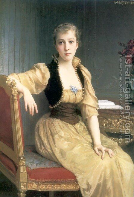 Lady Maxwell by William-Adolphe Bouguereau - Reproduction Oil Painting