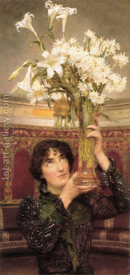 Flag Of Truce by Sir Lawrence Alma-Tadema - Reproduction Oil Painting