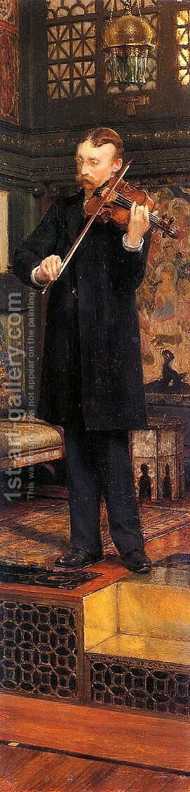 Maurice Sens by Sir Lawrence Alma-Tadema - Reproduction Oil Painting