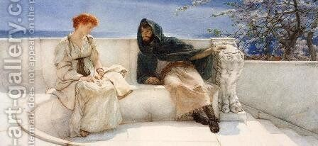 A Declaration by Sir Lawrence Alma-Tadema - Reproduction Oil Painting