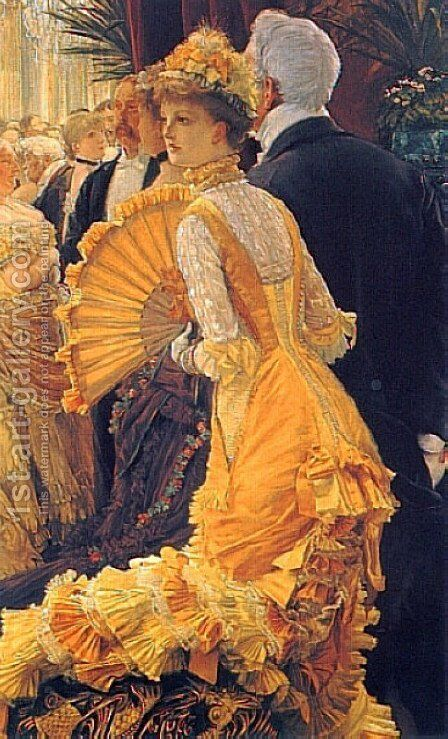 The Ball by James Jacques Joseph Tissot - Reproduction Oil Painting