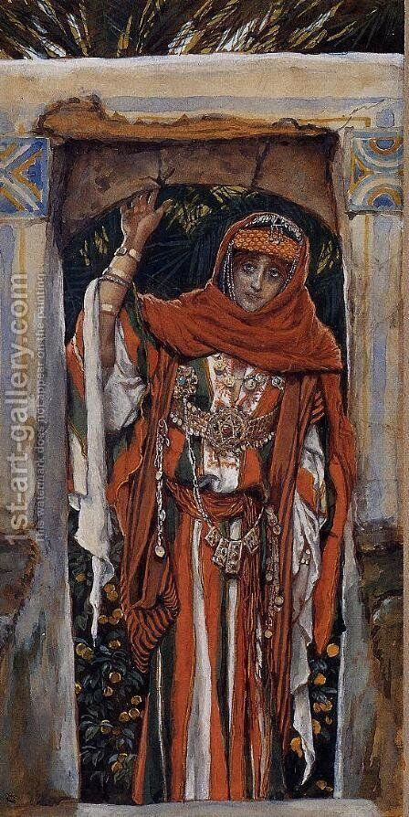 Mary Magdalene before Her Conversion by James Jacques Joseph Tissot - Reproduction Oil Painting