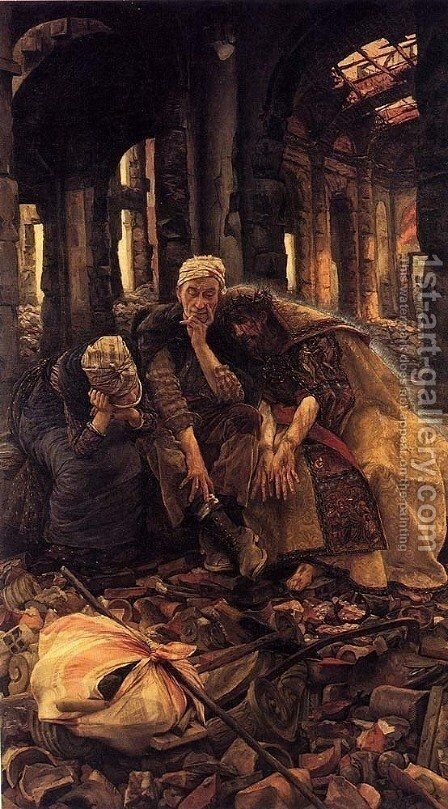 Ruins (Voices Within) by James Jacques Joseph Tissot - Reproduction Oil Painting