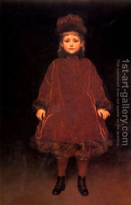 Portrait by Lord Frederick Leighton - Reproduction Oil Painting