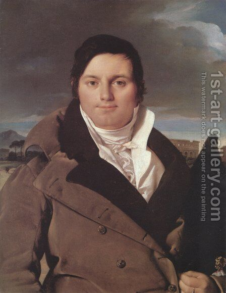 Joseph-Antoine Moltedo by Jean Auguste Dominique Ingres - Reproduction Oil Painting