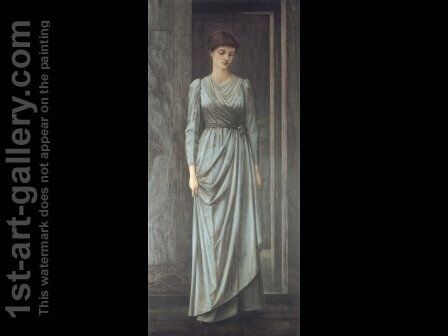 Lady Windsor by Sir Edward Coley Burne-Jones - Reproduction Oil Painting