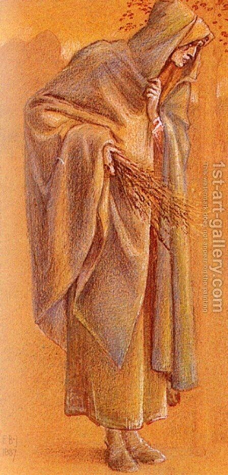 Melchoir (Pic 2) by Sir Edward Coley Burne-Jones - Reproduction Oil Painting