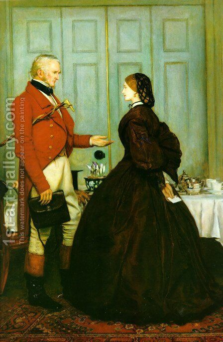 Trust Me by Sir John Everett Millais - Reproduction Oil Painting