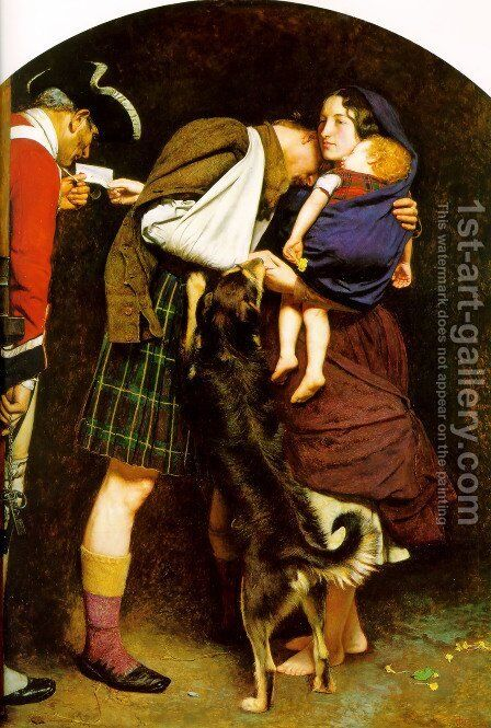 The Order of Release, 1746 by Sir John Everett Millais - Reproduction Oil Painting