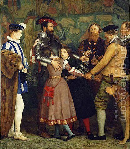 The Ransom by Sir John Everett Millais - Reproduction Oil Painting