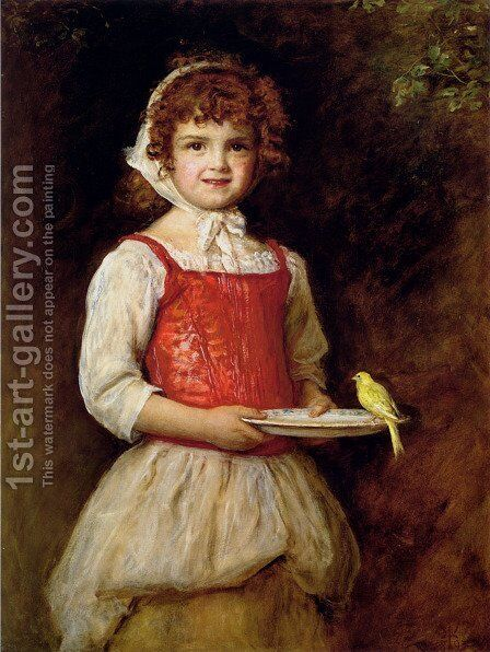 Merry by Sir John Everett Millais - Reproduction Oil Painting