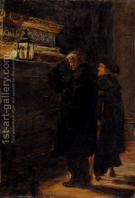Greenwich Pensioners At The Tomb Of Nelson by Sir John Everett Millais - Reproduction Oil Painting