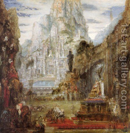 The Triumph of Alexander the Great by Gustave Moreau - Reproduction Oil Painting