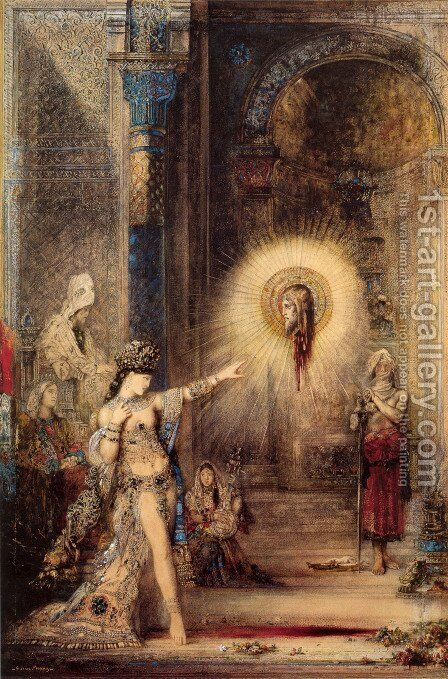 The Apparition by Gustave Moreau - Reproduction Oil Painting