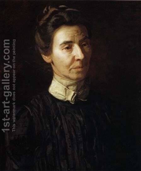 Portrait of Mary Adeline Williams by Thomas Cowperthwait Eakins - Reproduction Oil Painting
