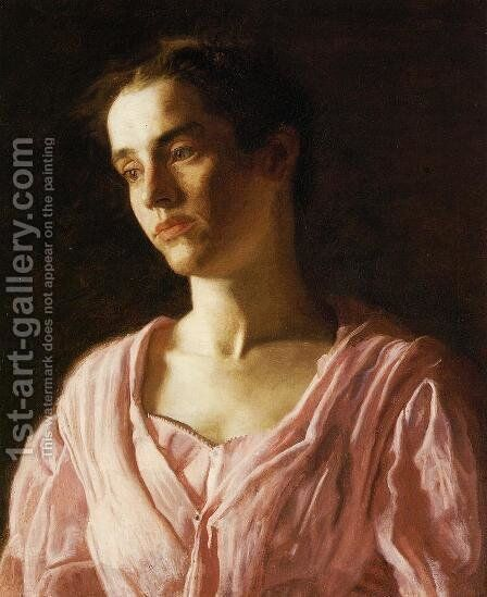 Portrait of Maud Cook by Thomas Cowperthwait Eakins - Reproduction Oil Painting