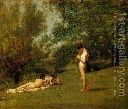 Arcadia by Thomas Cowperthwait Eakins - Reproduction Oil Painting