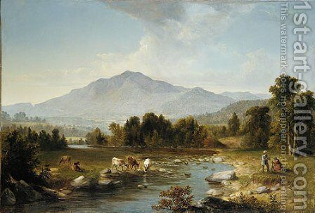 High Point: Shandaken Mountains by Asher Brown Durand - Reproduction Oil Painting
