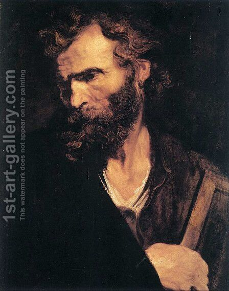Apostle Jude (or Thaddeus) by Sir Anthony Van Dyck - Reproduction Oil Painting