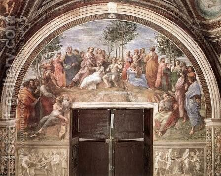 The Parnassus by Raphael - Reproduction Oil Painting