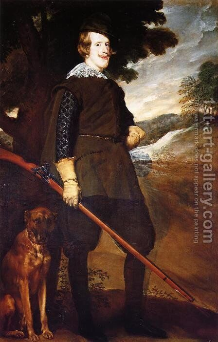 Philip IV as a Hunter by Velazquez - Reproduction Oil Painting