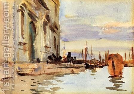 Spirito Santo, Saattera (or Venice, Zattere) by Sargent - Reproduction Oil Painting