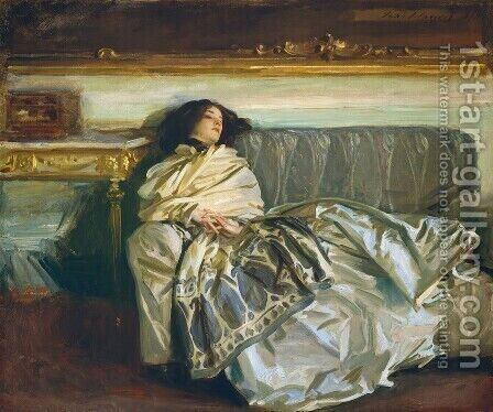 Nonchaloir (or Repose) by Sargent - Reproduction Oil Painting