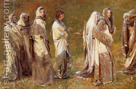 Cashmere by Sargent - Reproduction Oil Painting