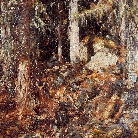 The Hermit by Sargent - Reproduction Oil Painting