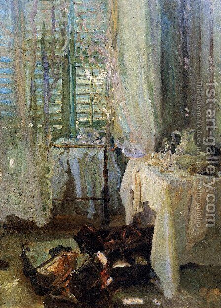 A Hotel Room by Sargent - Reproduction Oil Painting