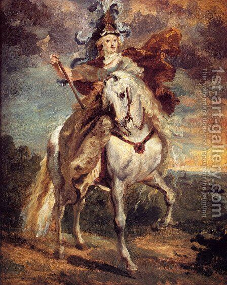 Marie De Medici At Pont-De-Ce by Theodore Gericault - Reproduction Oil Painting