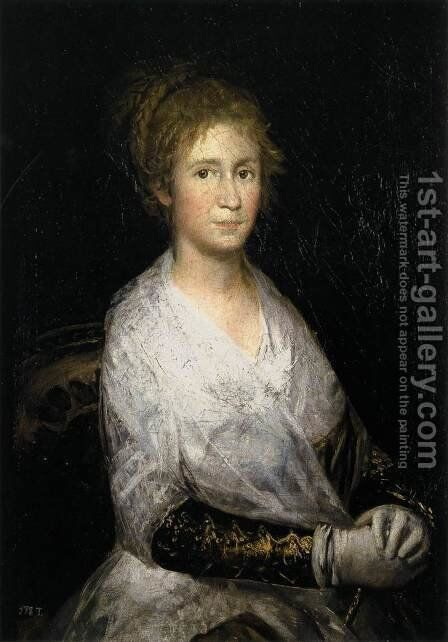 Josefa Bayeu (or Leocadia Weiss) by Goya - Reproduction Oil Painting