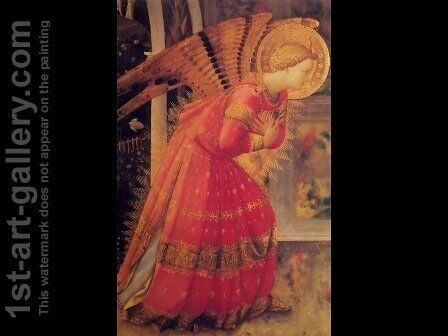 Monecarlo Altarpiece by Angelico Fra - Reproduction Oil Painting