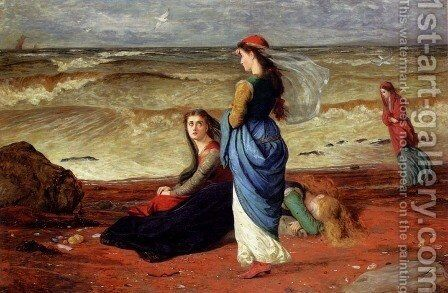 Longing by James Archer - Reproduction Oil Painting