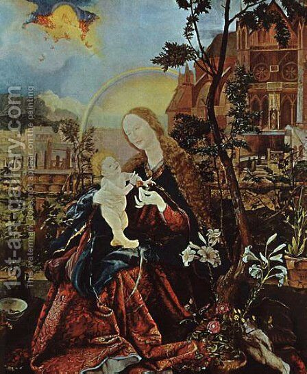 Stuppach Madonna by Matthias Grunewald (Mathis Gothardt) - Reproduction Oil Painting