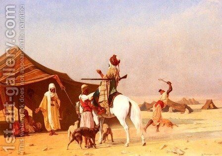 C'est Un Emir (It's the Emir) by Gustave Clarence Rodolphe Boulanger - Reproduction Oil Painting