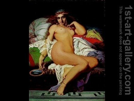 Phryne by Gustave Clarence Rodolphe Boulanger - Reproduction Oil Painting