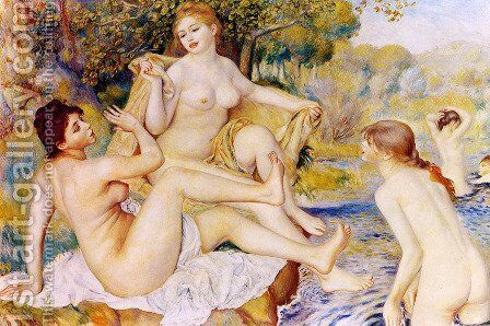 The Large Bathers by Pierre Auguste Renoir - Reproduction Oil Painting
