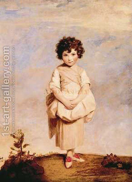 Collina by Sir Joshua Reynolds - Reproduction Oil Painting