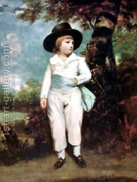 John Charles by Sir Joshua Reynolds - Reproduction Oil Painting