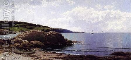 Baily's Island, Maine by Alfred Thompson Bricher - Reproduction Oil Painting
