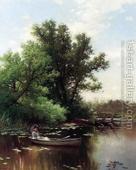 Drifting by Alfred Thompson Bricher - Reproduction Oil Painting