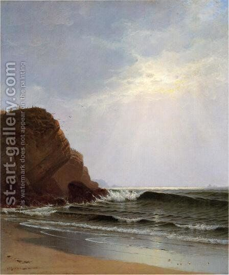 Otter Cliffs, Mount Desert Island, Maine by Alfred Thompson Bricher - Reproduction Oil Painting