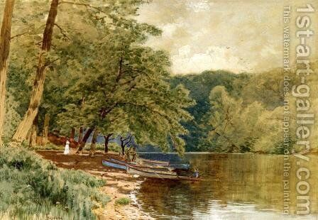 Rowboats for Hire by Alfred Thompson Bricher - Reproduction Oil Painting