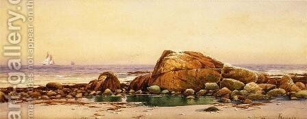 Calm Morning, Mawomet by Alfred Thompson Bricher - Reproduction Oil Painting