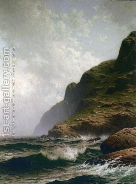 Grand Summer, Grand Manan by Alfred Thompson Bricher - Reproduction Oil Painting